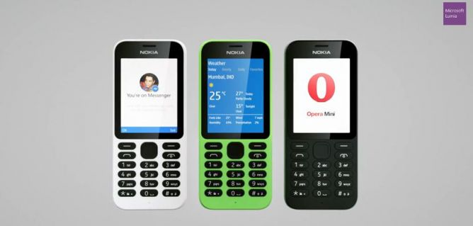 Ponsel Nokia 215 Dual SIM