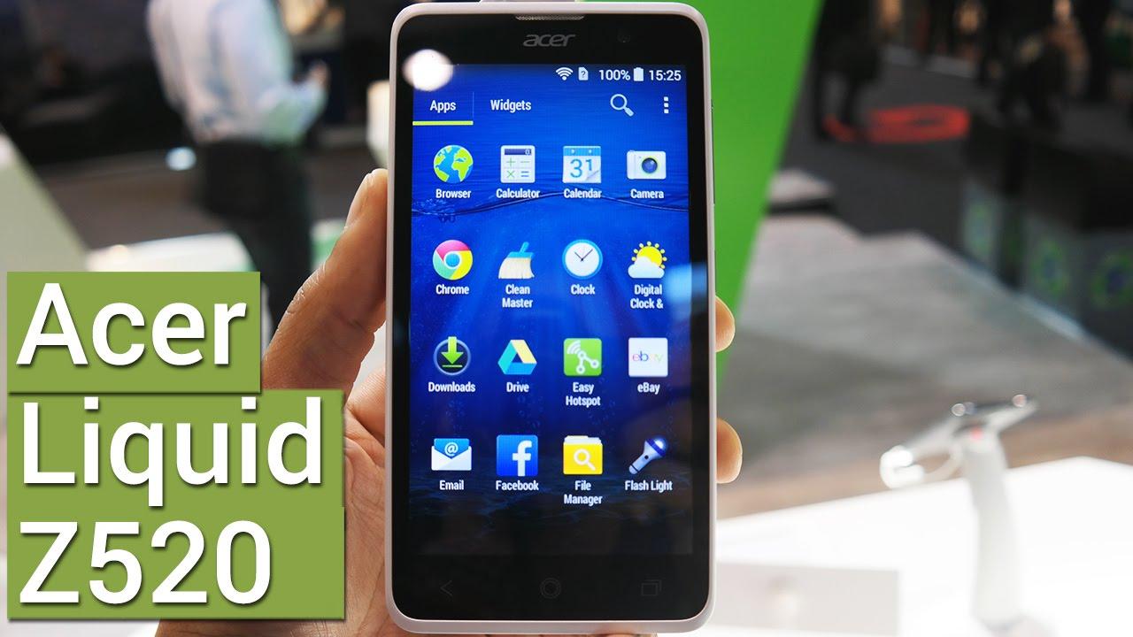 Ponsel Acer Liquid Z520