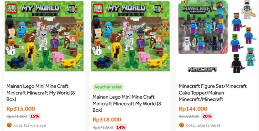 harga minicraft